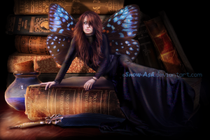 Spirit of the books by Morrigan-LE