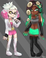 New outfits for the Off the Hook by Aligamer005
