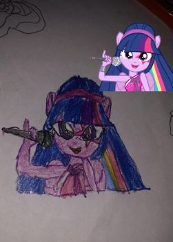Rockin Twilight Sparkle  by prensestwilight01