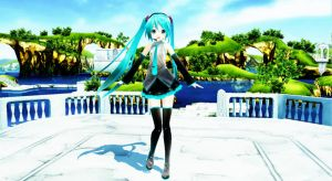 Welcome Miss Hatsune by MikaAlaMode