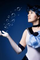 Bubbules : Sailor Mercury by Mikacosplay