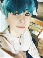 Suga selca - study photo by Choco-Nymbus