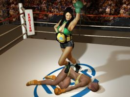 32 The Jade Fist Humiliates Lana Sinclair by cpunch