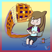 Sewing For  Blueberry Pie by Squeka