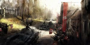 1938 borderlines under fire -Welcoming the Germans by VitoSs
