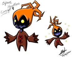 Spore Heartless Concept by anime-arteest