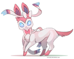Sylveon by Himmely