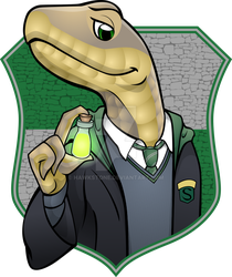 Hogwarts Housefurs: Slytherin by Hawkstone