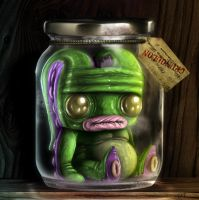 UNCLE HOOFY SASONAX'S PICKLED ABOMINATIONS NO.3 by FLUMPCOMIX