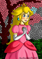 Princess Peach by xBooxBooxBear