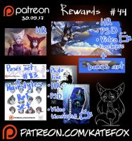 Patreon rewards #44 by Kate-FoX