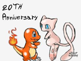 Happy 20th anniversary: Something Mew by Loveponies89