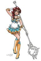 Sailor Ethildria by SarahsPlushNStuff
