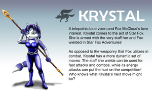 Smash Profile - Krystal by Ultimatethinker721