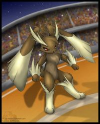 Lopunny in the stadium by Shivita