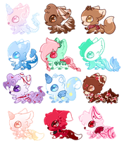 Gummy Pups Designs (3/12 OPEN) by Faeyrie