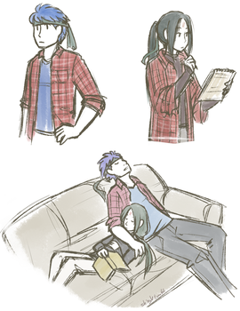 flannel by ShinyVulpix