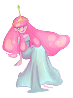 Princess Bubblegum by T-Recksie