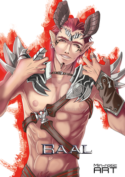 #02 Baal -Demon Cards- by Min-rotic