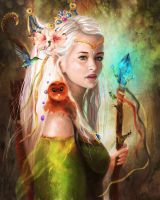 Elf by Anamicheal