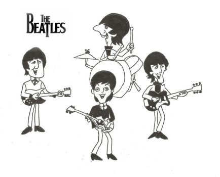 The Beatles by AlexaJustMe