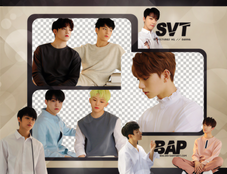 Pack Png #652 // SEVENTEEN (ALONE) by BEAPANDA