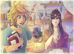 Magical Laboratory by Astra-cat