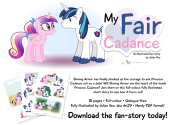 My Fair Cadance: An Illustrated Fan-Story by dm29