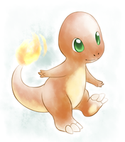 Little Baby Charmander by ThatWildMary