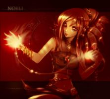Fire summoner by norli