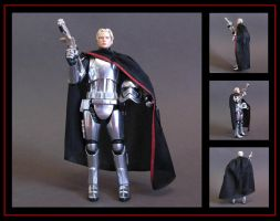 Captain Phasma (custom figure) by nightwing1975