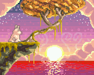 6th Pixel Art - Lonely Pig by TrepkSoto