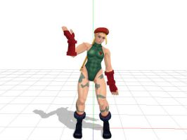 MMD Newcomer - Cammy White Download by blacktwisted