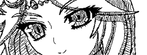 Miiverse Doodle #39 - Palutena Alights by ChibiSkeven