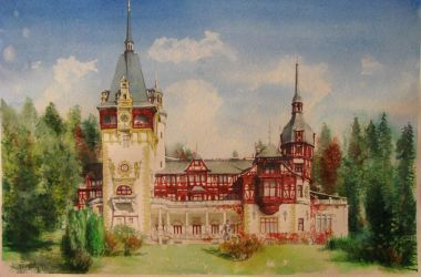 Peles castle by milanglo