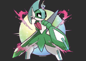 Mega Gallade v2 (FAN-MADE)