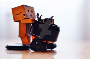 A 'not so innocent' Danbo by josephtimms