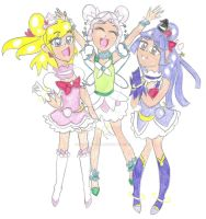 Magical Witches Pretty Cure (Next Gen) by HappyMagical
