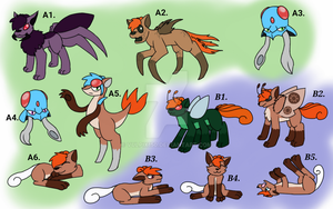 Foxes, Squids, and Creepy Crawlies Clutch by Vulpix150