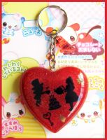 Alice in Wonderland Keychain by cherryboop