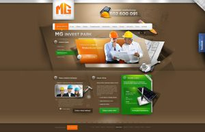 MG invest park  - home page by webdesigner1921