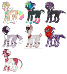 Discounted Canine Adopts OPEN SP 7/7 by BebopSparkles