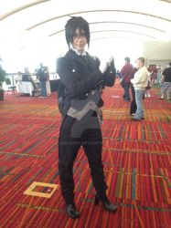 Sebastian Michaelis from Black Butler at CTcon '13 by Glam-Baby