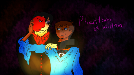 Phantom of Voltron by RosyandScourge