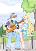 Takuto Playing Guitar by suggy-chan