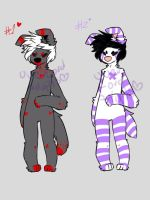 Anthro adopts 6 (OPEN 1/2) SET PRICE NOW by OverLord-Adopts