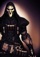 Overwatch: Reaper by Wrecker-lady