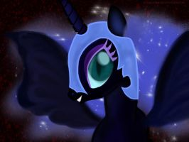 Nightmare Moon is awesome by Sludge888