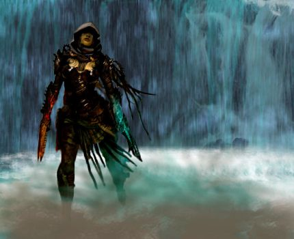 Guild Wars 2 Thief in the mist by FayBycroft