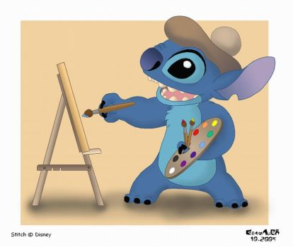 Painter Stitch by GrayAliEN